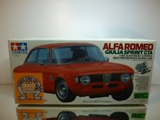 TAMIYA 58187 BOX for ALFA ROMEO GIULIA SPRINT GTA - L44.5cm  - ONLY BOX