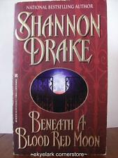 Shannon Drake *Beneath a Blood Red Moon* #1-Paranormal Romance Fiction!