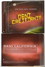 RED HOT CHILI PEPPERS dani california CD PROMO rhcp