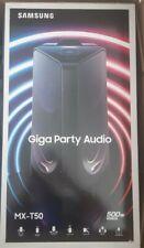 Samsung Sound Tower MX-T50 2.0 Channel Bluetooth Speaker, Bass Booster, Karaoke