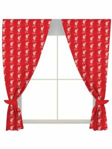Liverpool FC Football Curtains - 54 Inches Window Curtains Gift