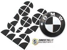 GLITTER NERO EMBLEMA angoli per BMW m1 f20 f21 e81 e82 e87 e88 f22 f23 M pacchetto