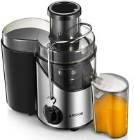 Juicer Juice Extractor, Aicook Centrifugal Juicer 3'' Wide Mouth AMR526