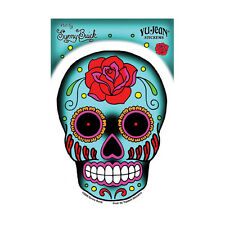Rose Sugar Candy Skull STICKER Sunny Buick Car Decal Laptop Day of the Dead