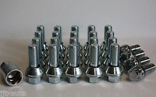 M14 x 1,5 Wobble Conversión Set Tornillos antirrobo de ruedas para SKODA