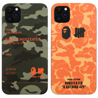 BAPE UNDEFEATED Camouflage Case Cover For iPhone 11 Pro Max XS XR 8 7 Plus