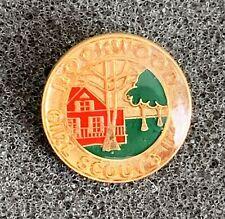 Historical Rockwood National Girl Scouts Camp Pin Pinback Potomac, Maryland USA