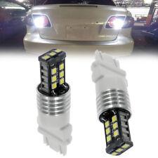 2x Bright White 3156 3157 Projector Led Light Reverse Backup Bulbs Driving Lamp