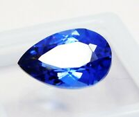 Natural CERTIFIED Pear 8 Ct Blue Sapphire Loose Gemstone
