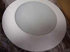 Case of 12 Nicor NA17575 White  A19 Albalite Shower Trim w/ Plastic Ring