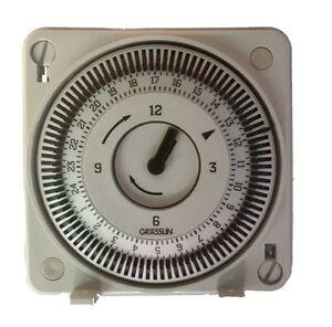 Grasslin Timer Clock FM1STUZ Electronic  Chlorinator Clock Replacement