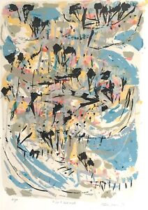 """DAVID RANKIN '87 - """"WET SAND"""" - TOP ARTIST'S PROOF Ex ERNST & YOUNG COLLECTION"""