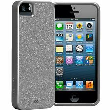 Case-Mate Glamour iPhone 5s 5 SE Fino Silver Brillante Funda cm022460