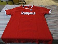 Rothaus German Brewery Red T Shirt Size S