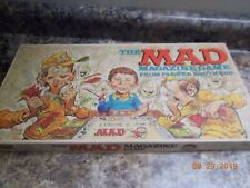1979 Parker Brothers Mad Magazine Game, complete, 2 replacement player tokens