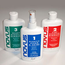 Novus Plastic Polish 8fl oz (237ml) Novus 1, 2 & 3 acrylic cleaner scratch