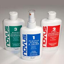 NOVUS Polacco Plastica 8fl oz (237ml) Novus 1, 2 & 3 Acrilico Cleaner Scratch