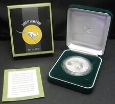 2000 $1 Silver Roo Coin 1oz Proof - In Box & Case (Kangaroo)