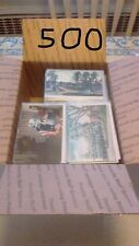 Box Lot Postcards 500 standard US only no foreign qsl or rack cards all clean