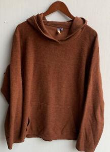 Ibex Merino Wool Pullover Hoody Size XL USA