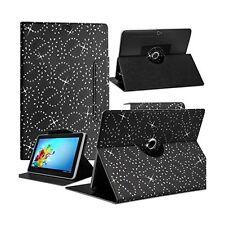 """Housse Etui Diamant Universel S couleur Noir pour Tablette Polaroid Rainbow+ 7"""""""