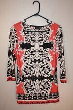 lavanya women's blouse size petite medium vibrant colored top