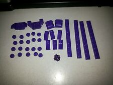 Non-Lego LOT of Bricks - Purple Color 35 pieces - Check Below