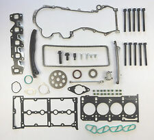 TIMING CHAIN KIT Testa Guarnizione Set Bulloni DOBLO IDEA PUNTO GRANDE PANDA 500 1.3 JTD