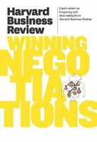 Harvard Business Review on Winning Negotiations (Paperback)