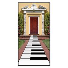 PIANOFORTE Piano Decorazione-Tappeto Tastiera-MUSICAL PARTY DECORAZIONI