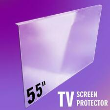 More details for tv screen protector 55 inch clear tv shield  55