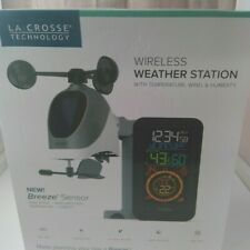 La Crosse S81120 Wireless Weather Station with Temperature, Wind, & Humidity