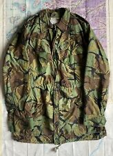 More details for british army 1960 pattern dpm camouflage combat smock jacket size 8
