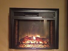 "RV ELECTRIC FIREPLACE 26"" WITH REMOTE AND RADIUS FRONT"