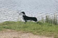 More details for dachshund dog metal garden art