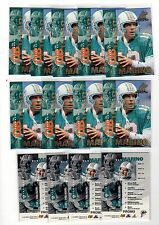 1X DAN MARINO 1997 Pinnacle Inside #2 NRMT PROMO SAMPLE Bulk Lot available
