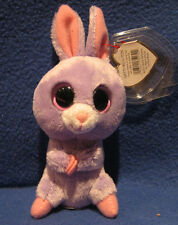 TY PETUNIA the BUNNY (5 INCH) BASKET BEANIE - MINT TAGS - NEW