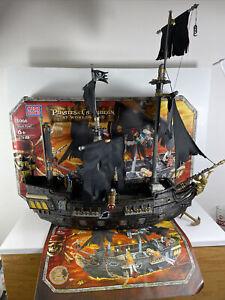 Mega Bloks 1066 Pirates of the Caribbean Black Pearl Pirate Ship ( No Figures )