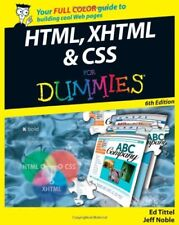 HTML, XHTML and CSS For Dummies-Ed Tittel, Jeff Noble