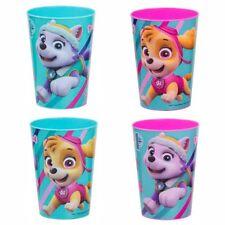 Set di 4 Bicchieri per Bambini | Paw Patrol | Tazze Riutilizzabili 200 ml
