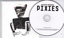 PIXIES CLASSIC MASHER RARE 1 TRACK PROMO CD