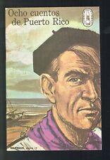 Panfleto Libros Del Pueblo Num 4 1966 ICP Ocho Cuentos De Puerto Rico Marichal