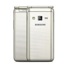 Nuevo Samsung Galaxy Folder 2 SM-G1600 Desbloqueado Dual SIM 16GB Oro Smartphone