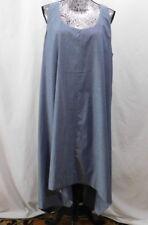 Premise Blue 100% Cotton Hi/Lo  Sleeveless Maxi Dress.....XL