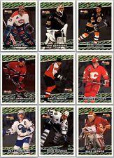 1993-94 OPC PREMIER BLACK GOLD INSERT CARDS- FINISH SET - PICK SINGLES Rare Mint
