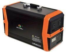 Sungzu 1000 Solar Generator Powe Station 100w Folding Solar Panel