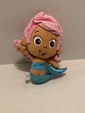 Fisher Price Bubble Guppies Molly Mermaid Pink Hair Plush Stuffed Toy