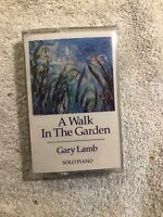 Gary Lamb-Solo Piano-A Walk in the Garden CASSETTE TAPE -NEW SEALED