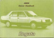 FIAT REGATA BERLINA 60 70 ES 75 85 100 DIESEL 1984-85 ORIGINALE del proprietario manuale