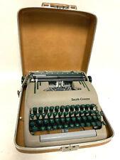 Vintage Smith Corona Silent-Super Typewriter Manual w/ Leather Case Circa 1950's